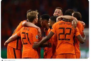 Hasil EURO 2020 - Serba Pertama dalam Kemenangan Belanda Atas Ukraina