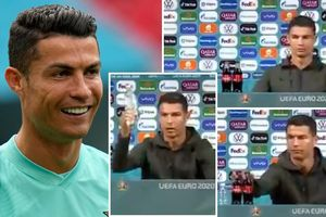 Terselip Ketidakpedean Cristiano Ronaldo di Balik Aksi Viral Geser Coca-Cola