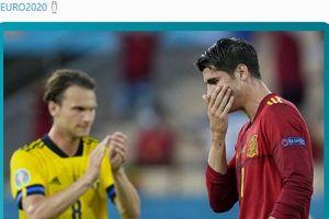Alvaro Morata Melempem di EURO 2020, Sang Anak Dapat Ancaman Pembunuhan dari Fan