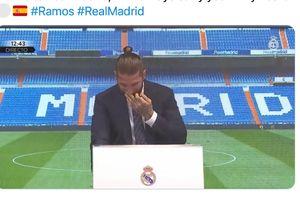 Sambil Meneteskan Air Mata, Sergio Ramos Janji Akan Kembali ke Real Madrid