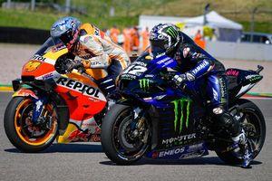 Hasil FP1 MotoGP Belanda 2021 - Maverick Vinales Tampil Kesetanan, Marc Marquez Bikin Kesalahan