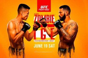 Hasil UFC Vegas 29 - Bangkit dari Kubur, Zombi Korea Dominasi Dan Ige