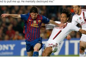 Lionel Messi Ternyata Pernah Bikin Mantan Bek AC Milan Kena Mental