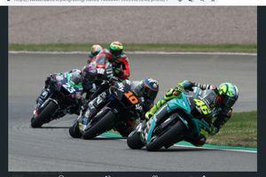 MotoGP Jerman 2021 - Valentino Rossi Ngamuk