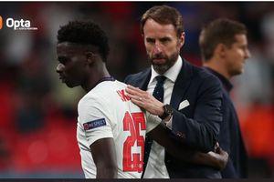 Rekor EURO 2020 - Cuma 2 Gol, Inggris Pemuncak Klasemen Akhir Paling Mandul di Piala Eropa