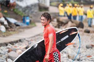 Hasil Surfing Olimpiade Tokyo 2020 - Raih Peringkat Ketiga, Rio Waida Melaju ke Ronde Kedua