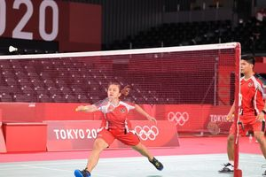 Olimpiade Tokyo 2020 - Kalah Cukup Telak dari Jepang, Praveen/Melati Gagal Jadi Juara Grup