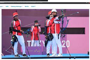 Panahan Olimpiade Tokyo 2020 - Langkah Regu Indonesia Terhenti, Masih Ada Harapan Lain