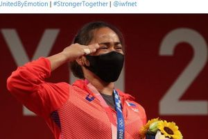 Olimpiade Tokyo 2020 - Sumbang Medali Emas Pertama dalam Sejarah, Atlet Filipina Dapat Bonus 2 Kali Lipat Indonesia