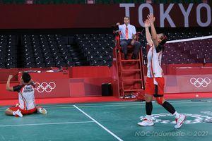 Hasil Olimpiade Tokyo 2020 - Robohkan Tembok Besar China, Greysia/Apriyani Cetak Sejarah