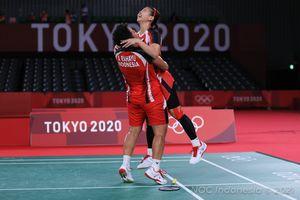 Hasil Final Olimpiade Tokyo 2020 - Emas Pertama, Terima Kasih Greysia/Apriyani!