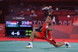 Jadwal Olimpiade Tokyo 2020 - Anthony Ginting Ditantang Sang Juara Bertahan