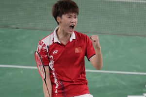 Olimpiade Tokyo 2020 - Perasaan Chen Yu Fei setelah Bikin Ratu Bulu Tangkis Dunia Tersungkur