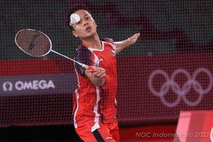 Olimpiade Tokyo 2020 - Medali Perunggu Anthony Ginting Bawa Indonesia Sudahi Puasa 17 Tahun
