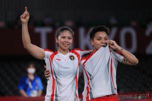 Olimpiade Tokyo 2020 - Greysia Polii Raih Medali Emas, Dua Rekor Pecah