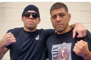 UFC 266 - Rival Seangkatan Sudah Pensiun Semua, Nick Diaz Tobat Jadi Gangster