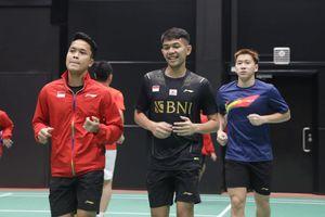 Hendra Setiawan dkk Jalani Latihan Perdana Jelang Sudirman Cup 2021