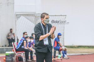 Taklukkan Persija dengan 10 Pemain, Pelatih Arema FC Apresiasi Anak Asuhnya