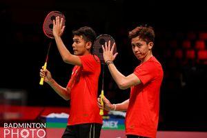 Hasil Semifinal Piala Thomas 2020 - Fajar/Rian Libas Ganda Putra Denmark, Indonesia Resmi Lolos ke Final!
