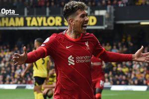Borong Tiga Gol di Kandang Watford, Roberto Firmino Cetak Hat-trick Kedua di Liga Inggris