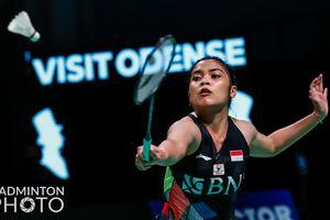 Hasil Denmark Open 2021 - Gregoria Tersingkir, Tunggal Putri Indonesia Habis