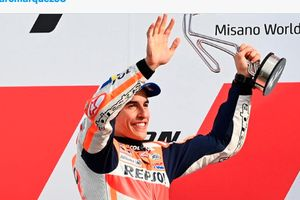 Paham Kondisi, Marc Marquez Lebih Realistis Dalam Merebut Kemenangan