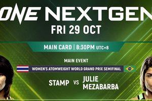Semifinal Grand Prix Atomweight di ONE Championship: Nextgen, Ini Gacoan Atlet Indonesia