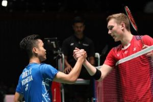 Sedang Berlangsung! Live Streaming Piala Sudirman 2019 - Anthony Sinisuka Ginting Hadapi Viktor Axelsen
