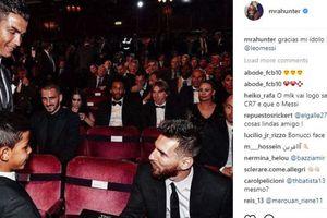 Anak Ronaldo Tidak Percaya Saat Pertama Kali Bertemu Messi Karena Terlalu Pendek