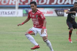 Harapan Kadek Agung  saat  Timnas U-22 Indonesia Diuji Iran