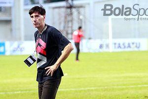 Senangnya Milan Petrovic dengan Hasil Perseru Badak Lampung Kontra PSM