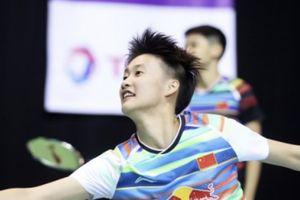 Momen Tunggal Putri China Tersandung di Panggung Gala Dinner BWF World Tour Finals 2019