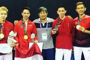 Kejuaraan Dunia 2019 - Momen Emosional Duo Pelatih Indonesia Usai FajRi Melenggang ke Babak Semifinal!
