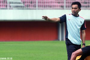 Pesan Seto Nurdiantoro kepada Pemain PSS Sleman Jelang Kontra PSM