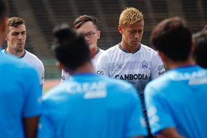 Satu Grup dengan Timnas Indonesia, Ini Kata Pelatih Kamboja Keisuke Honda