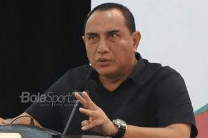 Mantan Ketum PSSI Edy Rahmayadi 'Semprot' Pemain PSMS Medan Agar Bangun Pagi
