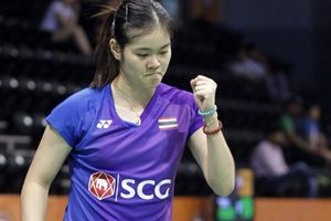 Thailand Masters 2020 - Menangi Duel Gila-gilaan, Wakil Tuan Rumah Jadi Lawan Gregoria Mariska Berikutnya