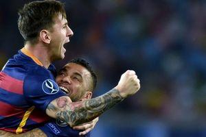 Rahasia Besar On Fire Seorang Messi Akhirnya Diungkap Dani Alves