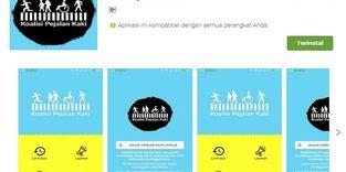 Koalisi Pejalan Kaki, Aplikasi Keren yang Berpihak Pada Pedestrian