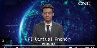 Mirip Manusia, Pembawa Berita ini Ternyata Hasil Teknologi AI