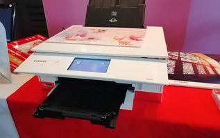 Printer Canon PIXMA TS8270, Bisa Cetak Stiker Nail Art Lewat Aplikasi