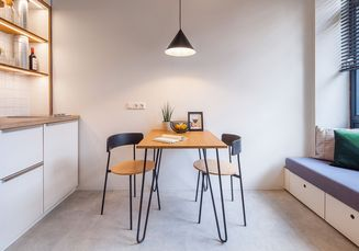 3 Inspirasi Desain Ruang Makan untuk Apartemen yang Mampu Menghemat Ruang!