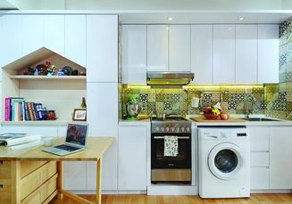 Inspirasi Desain Dapur Multifungsi, Luasnya Hanya  5 Meter Persegi