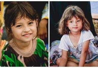 Makan dan Tinggal Di Pengungsian, Bocah Cantik Korban Gempa Palu Ini Viral Karena Tak Pernah Menangis