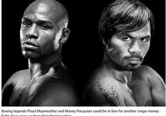 Bukti Ini Buat Floyd Mayweather Serius Ingin Bertanding Ulang Melawan Manny Pacquiao