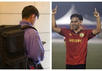 Mantan Pemain Malaysia Itu Kini Alih Profesi Jadi Tukang Ojek Online