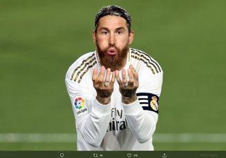 Manfaatkan Kondisi, CR7 Minta Juventus Datangkan Sergio Ramos