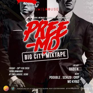 Soul Menace x Motion 97,5 FM: Preemo Big City Mixtape @ Swillhouse SCBD