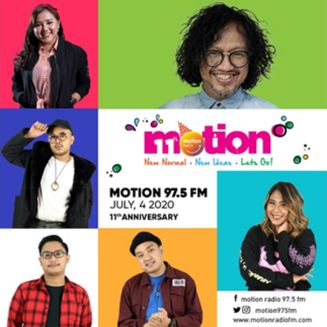 HUT Di Tengah Pandemi, Motion Radio 975 FM Ajak Pendengar Tetap Optimis dan Semangat Berkarya