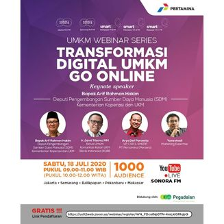 Webinar UMKM Series: Transformasi Digital UMKM Go Online